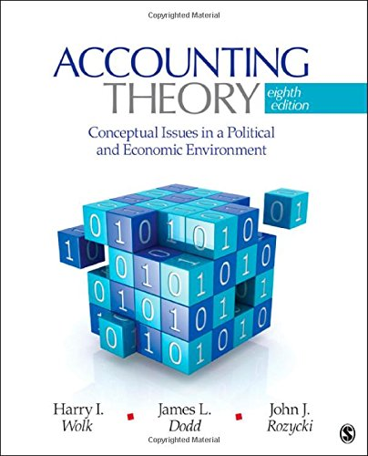 9781412991698: Accounting Theory: Conceptual Issues in a Political and Economic Environment