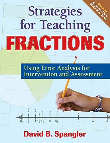 9781412993982: Strategies for Teaching Fractions: Using Error Analysis for Intervention and Assessment
