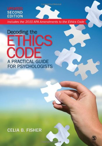 9781412994378: Decoding the Ethics Code: A Practical Guide for Psychologists, Updated