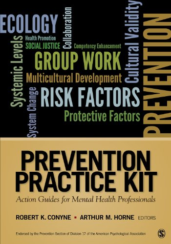 9781412995078: Prevention Practice Kit: Action Guides for Mental Health Professionals