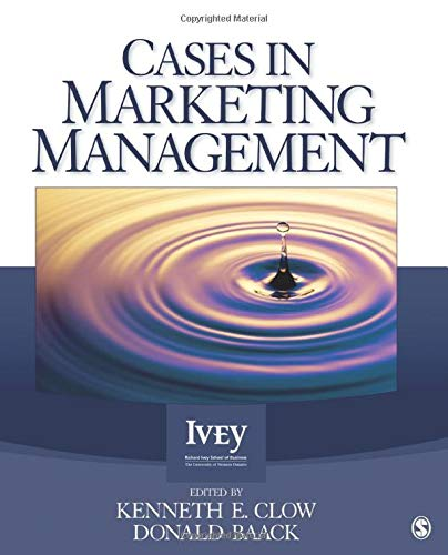 9781412996037: Cases in Marketing Management (The Ivey Casebook Series)