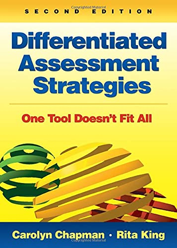9781412996648: Differentiated Assessment Strategies: One Tool Doesn′t Fit All