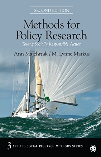 9781412997805: Methods for Policy Research: Taking Socially Responsible Action (Applied Social Research Methods)