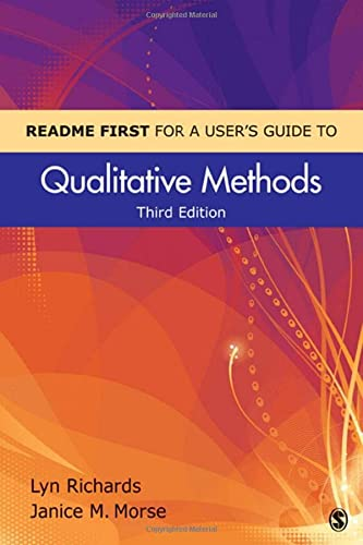 9781412998062: README FIRST for a User′s Guide to Qualitative Methods (Volume 3)