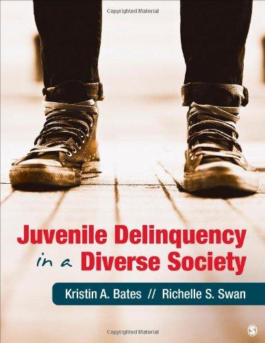 9781412998123: Juvenile Delinquency in a Diverse Society