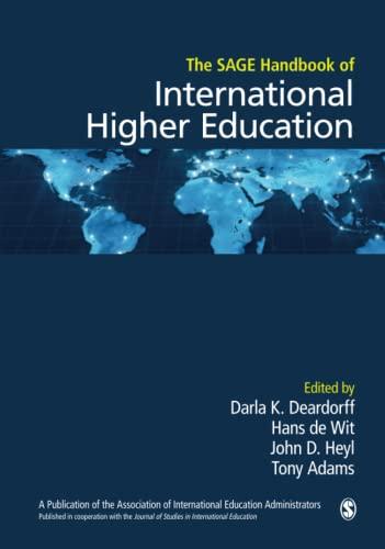 9781412999212: The SAGE Handbook of International Higher Education