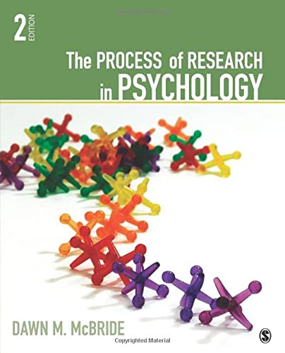 9781412999557: The Process of Research in Psychology