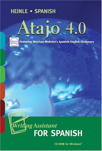 Atajo 4.0 CD-ROM: Writing Assistant for Spanish: Dominguez, Frank; Noblitt,