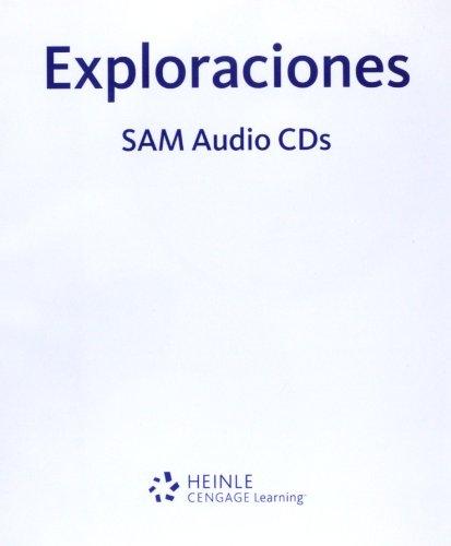9781413000665: Student Activities Manual Audio Program, 6 CD-ROMs for Blitt/Casas' Exploraciones