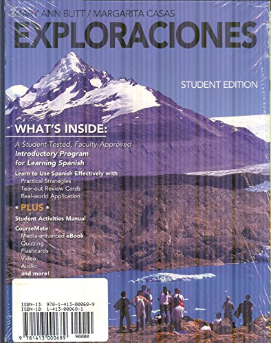 Exploraciones (with iLrn Heinle Learning Center, 3