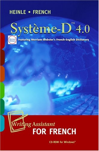 9781413000818: Système-D 4.0 CD-ROM: Writing Assistant for French