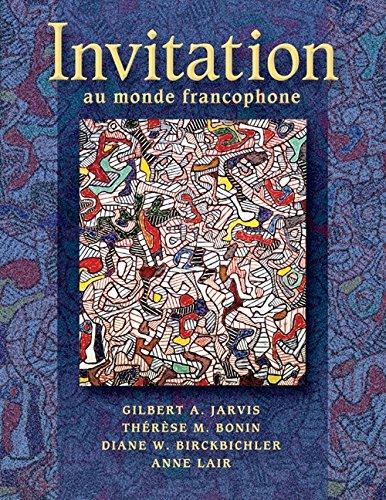9781413001334: Invitation au monde francophone (with Audio CD) (World Languages)