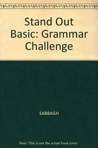 Stand Out Basic Grammar Challenge: Rob Jenkins, Staci Johnson