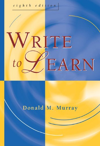 9781413001730: Write to Learn (with InfoTrac)