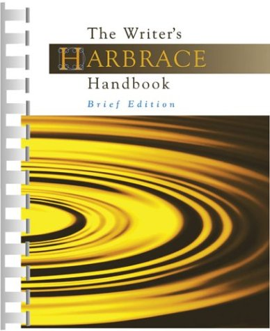 9781413001808: The Writer's Harbrace Handbook, Brief Edition (with Revised APA, Revised MLA and InfoTrac)