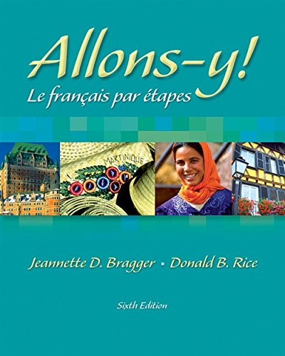9781413001907: Allons-y! Le Français par étapes (with Audio CD)