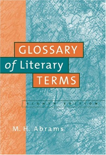 9781413002188: A Glossary of Literary Terms