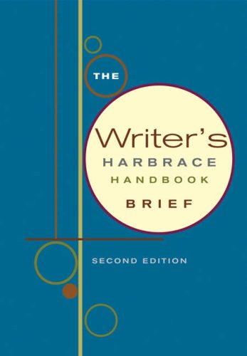 9781413002362: The Writer's Harbrace Handbook, Brief Edition (with InfoTrac)