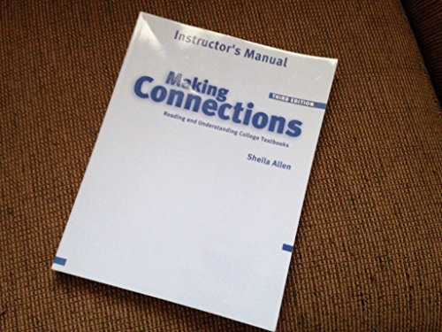 9781413002423: Making Connections: Instructor's Manual