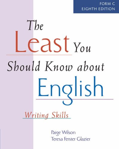 9781413002539: The Least You Should Know About English: Writing Skills, Form C