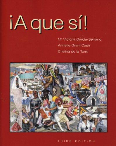 9781413003901: A que si!, Third Edition