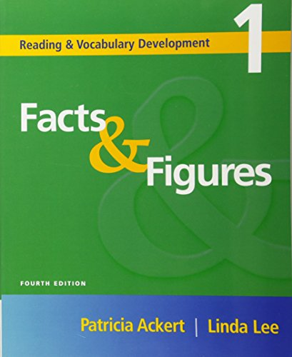 9781413004182: Facts & Figures: Reading and Vocabulary Development 1 (Reading & Vocabulary Development)