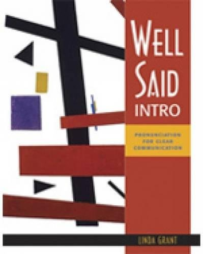 9781413005103: Well Said Intro: Pronunciation for Clear Communication