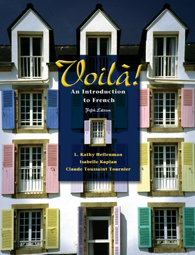9781413005219: Voila!: An Introduction to French (with Audio CD)