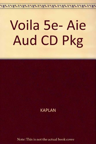 9781413005257: Voila!: An Introduction to French