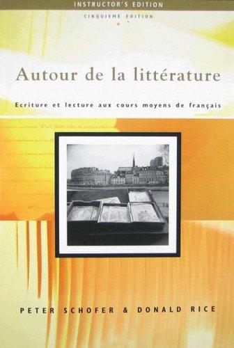 9781413005813: Autour De LA Lit 5e-IE Aud CD