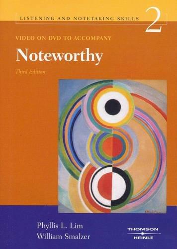 9781413006001: Listening and Notetaking Skills 2: DVD