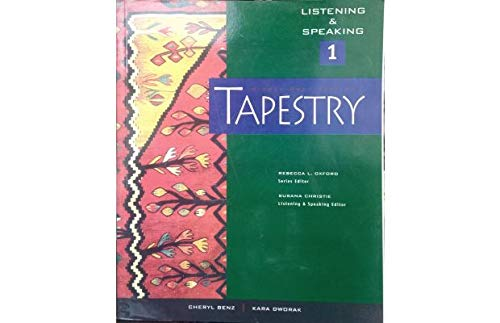 9781413006155: Tapestry Listening & Speaking, Level 1 (Middle East Edition)