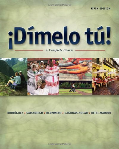 9781413006377: Dimelo tu!: A Complete Course (with Audio CD)