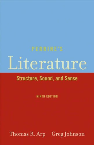 Perrines Literature : Structure, Sound, and Sense: Greg Johnson and
