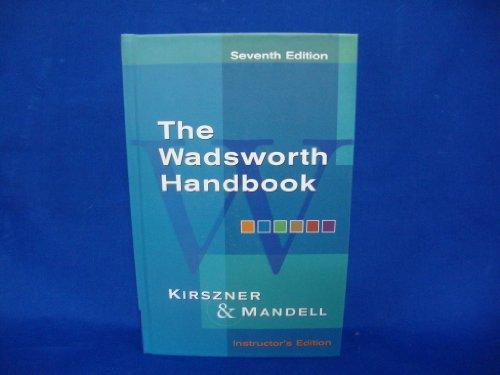 9781413006766: Wadsworth Handbook