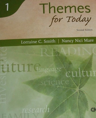 Reading for Today Series 1: Themes for: Lorraine C. Smith,