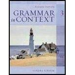 Grammar in Context Three 3 III -- Fourth 4th Edition, Teacher's Annotated Edition: Elbaum, ...
