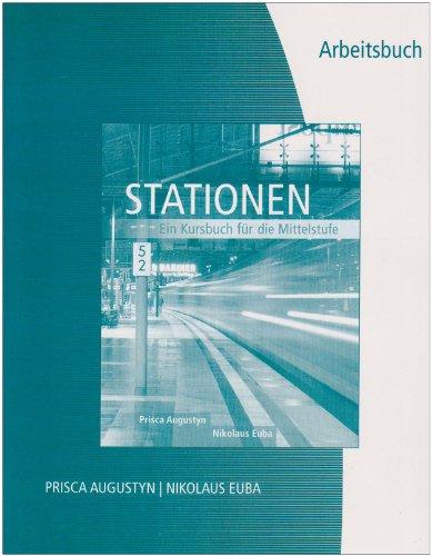 9781413008821: Workbook/Lab Manual for Stationen: Kursbuch für die Mittelstufe