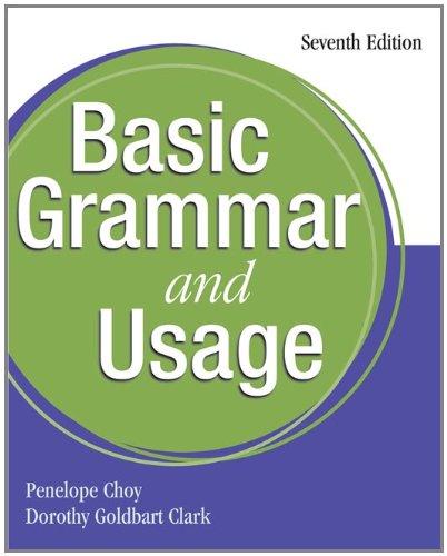 9781413008920: Basic Grammar and Usage