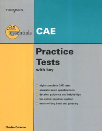 9781413009859: Thomson Exam Essentials: CAE Practice Tests: CAE (with Answer Key)