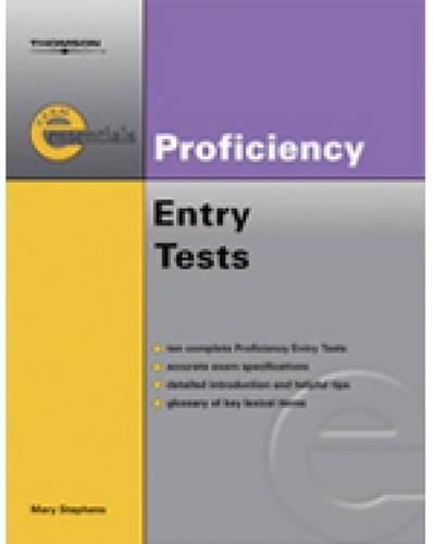 9781413009958: Exam Essentials: Proficiency Entry Test: CPE Entry Test (Thomson Exam Essentials)