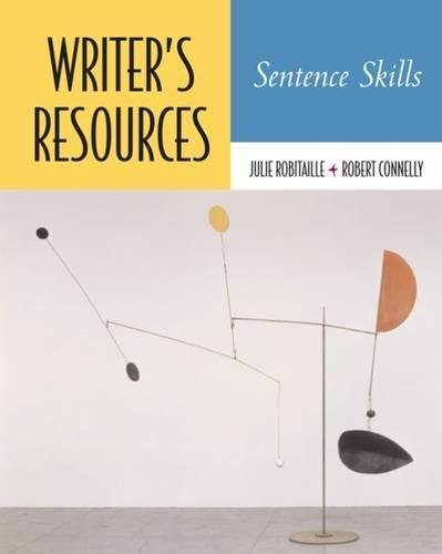 9781413010046: Writer's Resources: Sentence Skills (with Writer's Resources CD-ROM)
