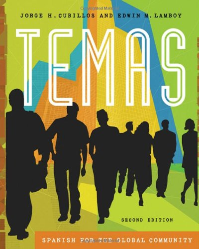 9781413010497: Temas: Spanish for the Global Community (with Audio CD) (Available Titles CengageNOW)