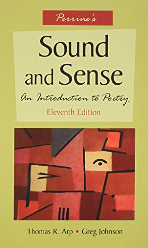 9781413010572: Perrine's Sound and Sense: An Introduction to Poetry