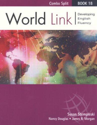 9781413010831: World Link Book 1B - Text/Workbook Split Version