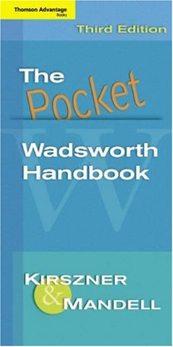 Cengage Advantage Books: The Pocket Wadsworth Handbook: Laurie G. Kirszner,