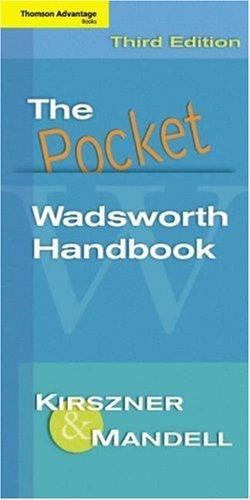 9781413011685: The Pocket Wadsworth Handbook (2006 3rd Edition)