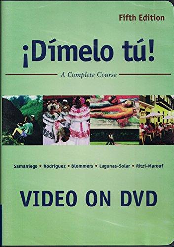 9781413011906: Dimelo Tu (A Complete Course), 5th edition