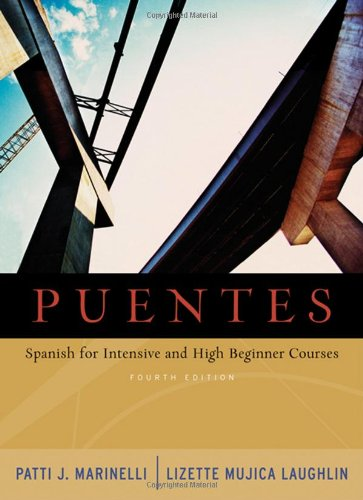 9781413011944: Puentes: Spanish for Intensive and High-Beginner Courses (with Audio CD)