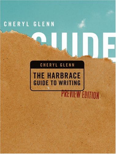 The Harbrace Guide to Writing, Preview Edition (1413012116) by Cheryl Glenn